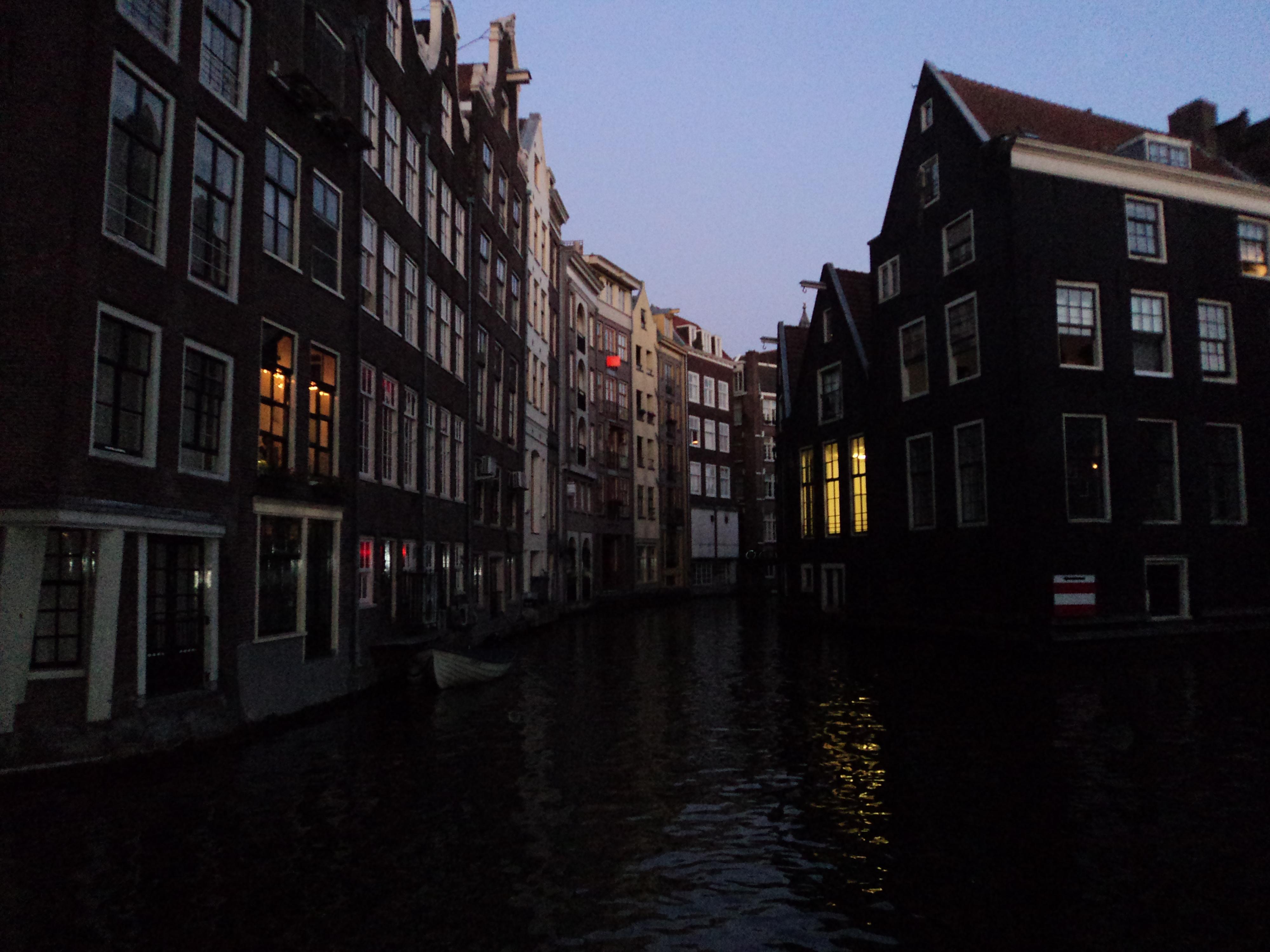 Rejs tysiąca świateł w Amsterdamie