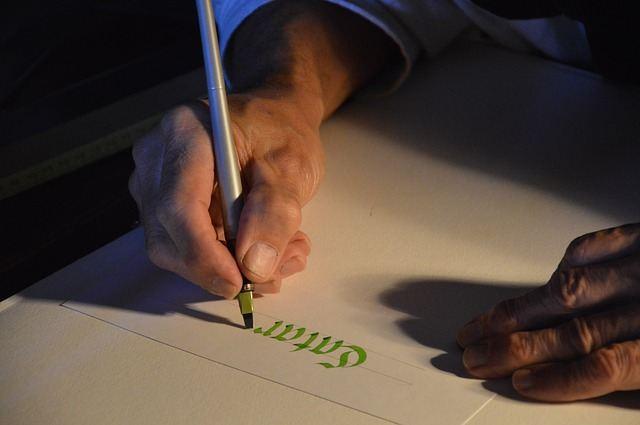 Kaligrafio wróć