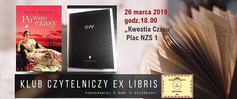 Eligiusz Buczyński w Klubie Ex Libris 26 marca