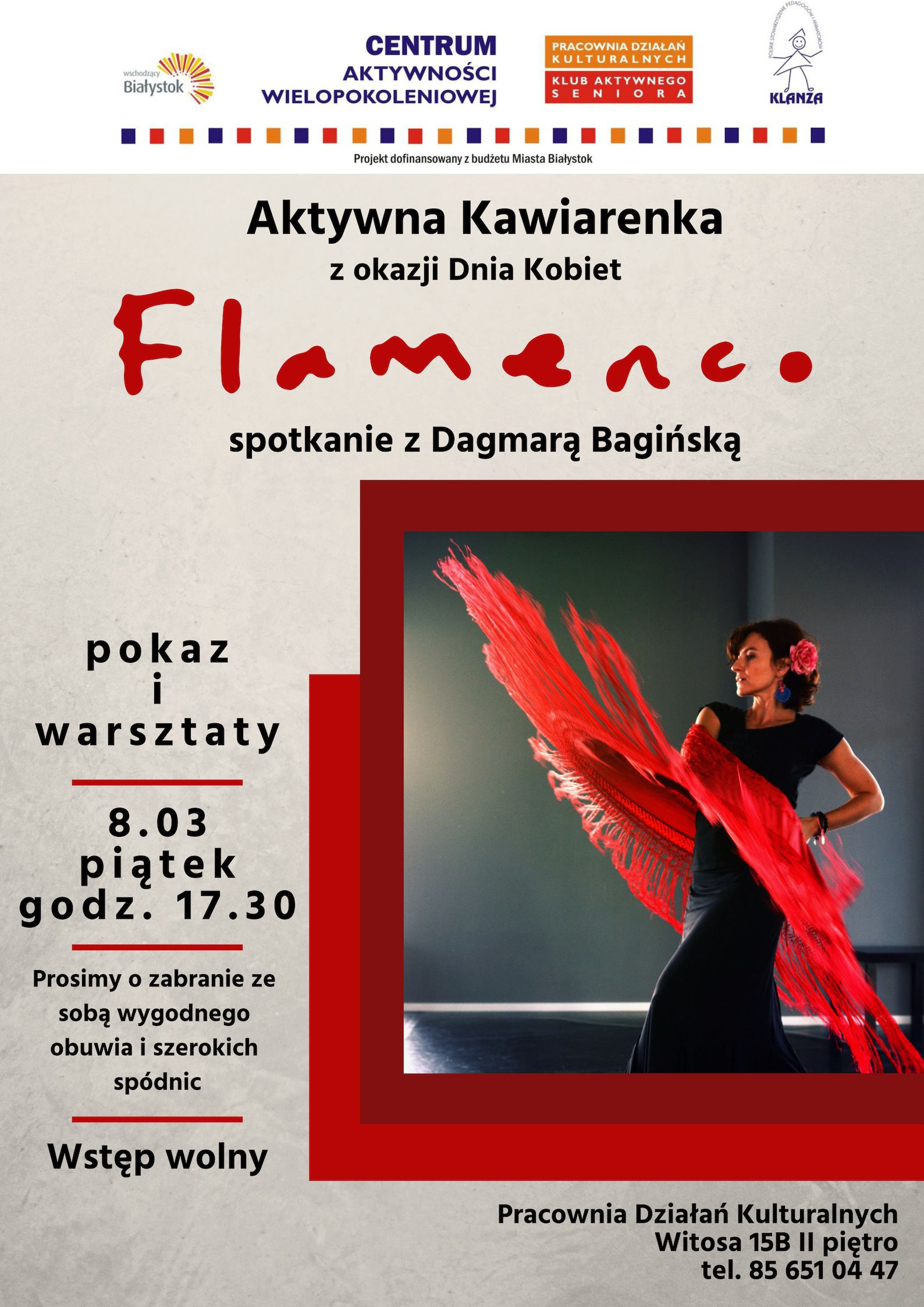 Flamenco z okazji Dnia Kobiet