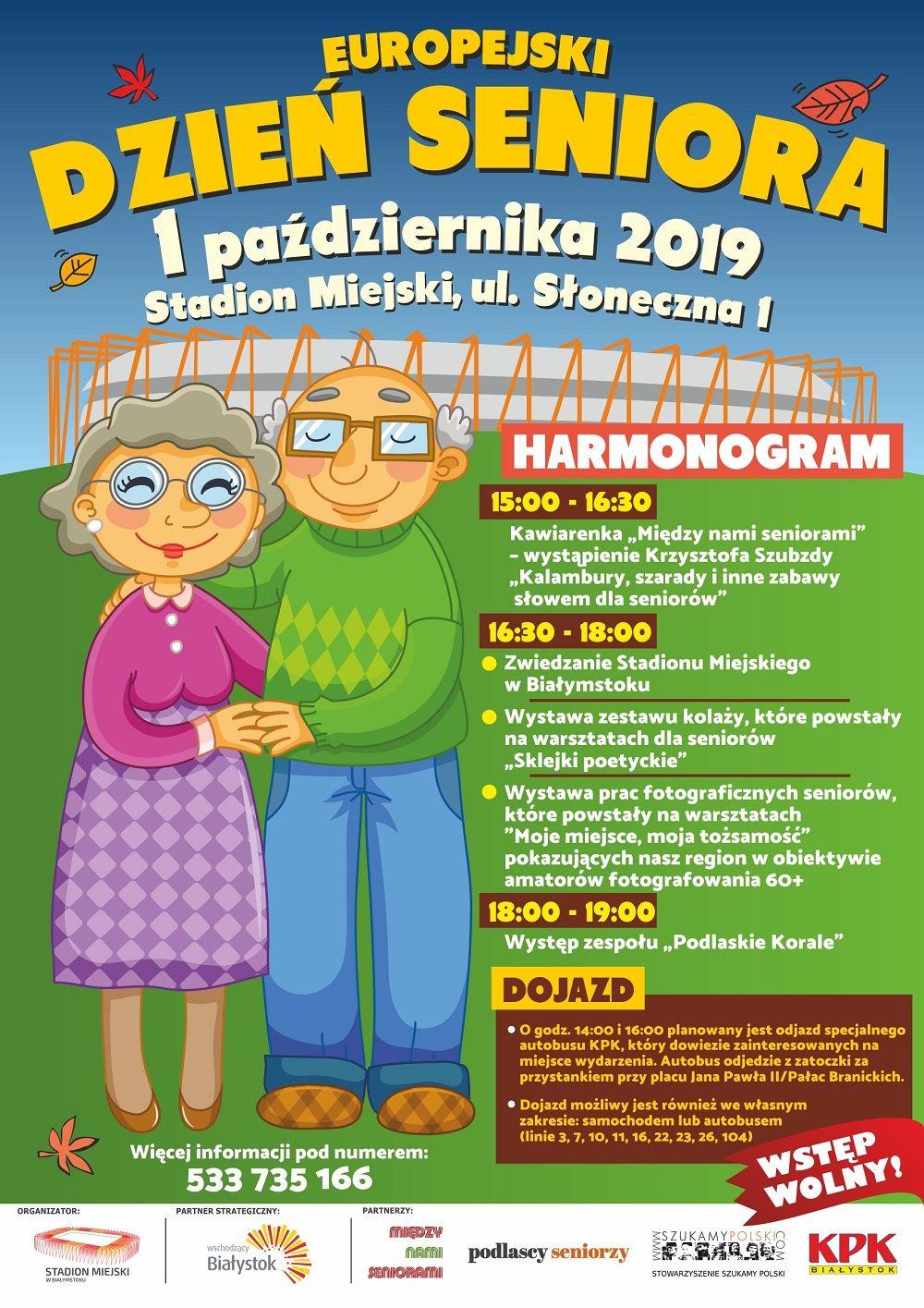 Europejski Dzień Seniora – 1 października