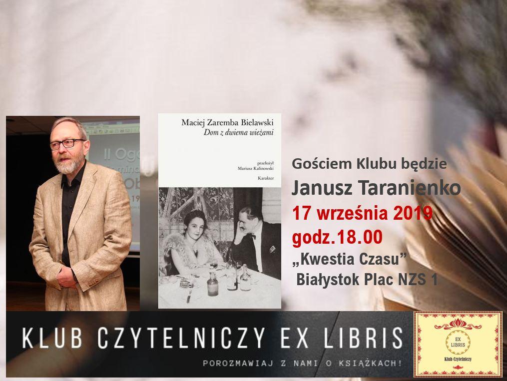 Ex Libris – porozmawiajmy  o książkach 17 września