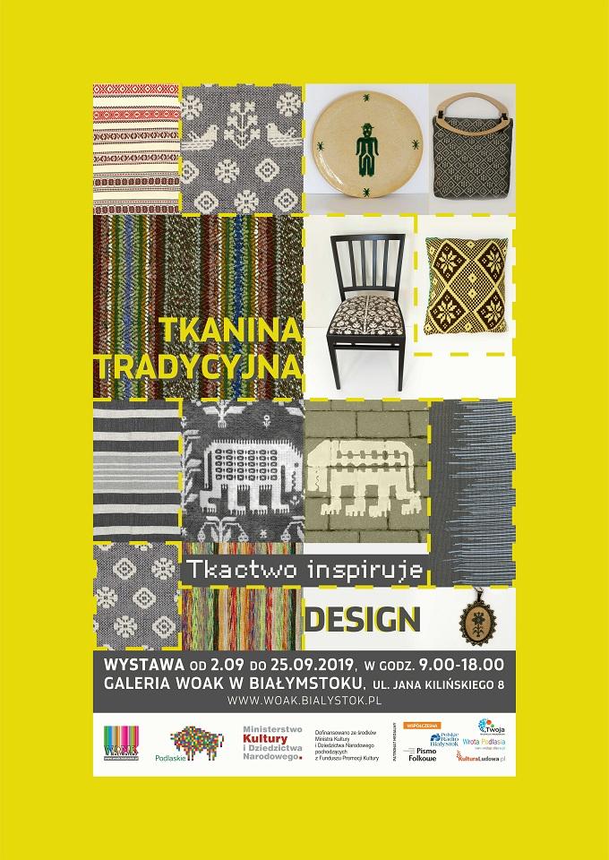 Tkanina tradycyjna i jej inspiracje – nowa wystawa w WOAK-u