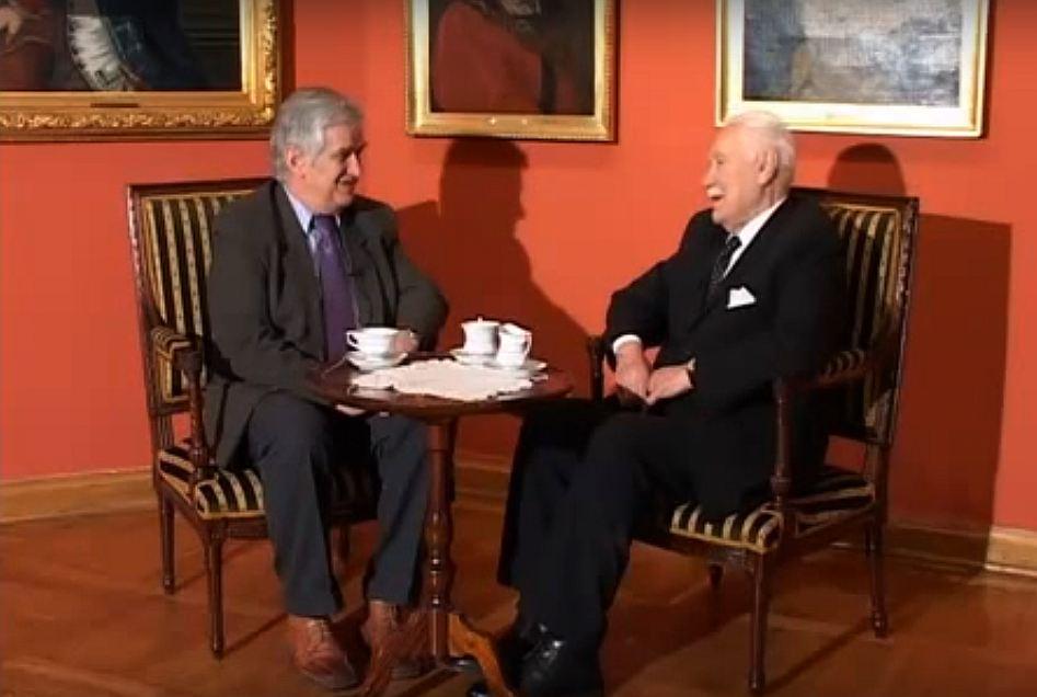 Archiwalna rozmowa z Ryszardem Kaczorowskim w telewizji seniora TVS