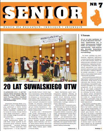 """Gazeta """"Senior Podlaski"""" nr 7"""