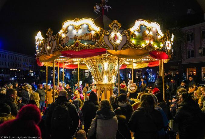 Białystok w świątecznej szacie