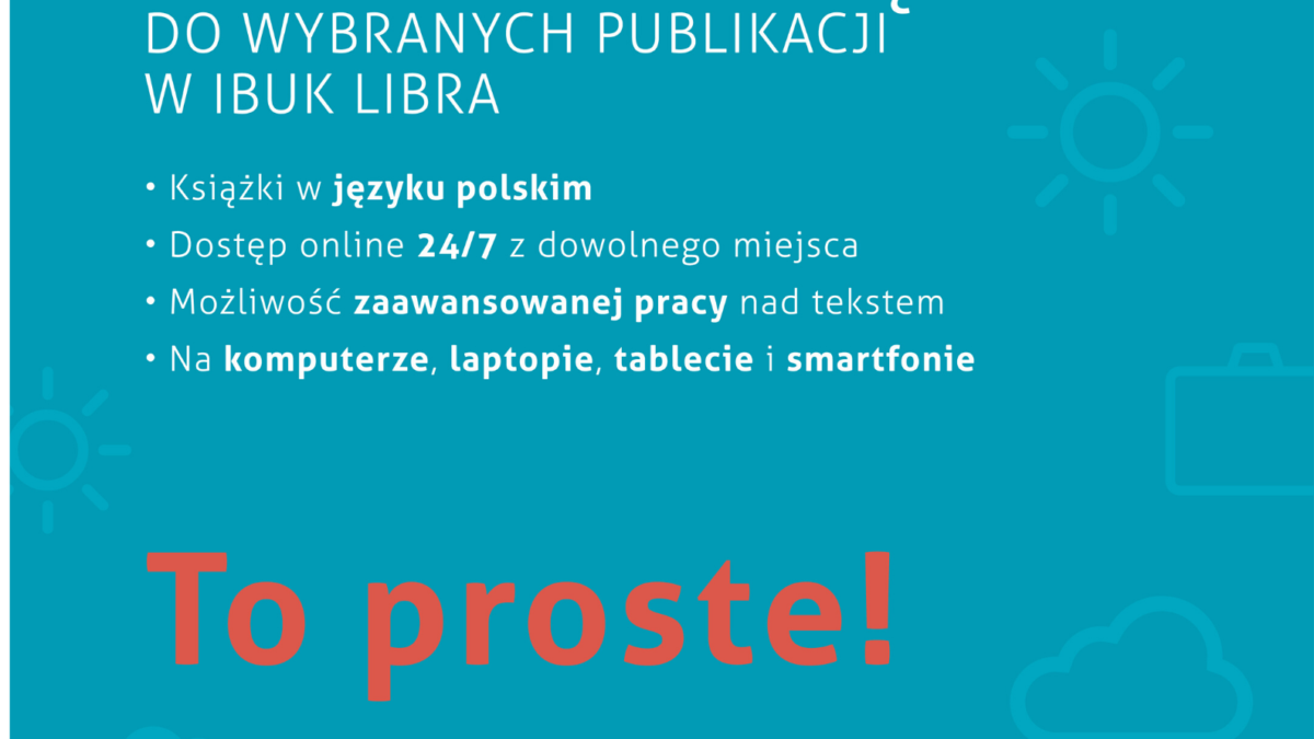 IBUK Libra dla Czytelników Książnicy Podlaskiej – bez wychodzenia z domu