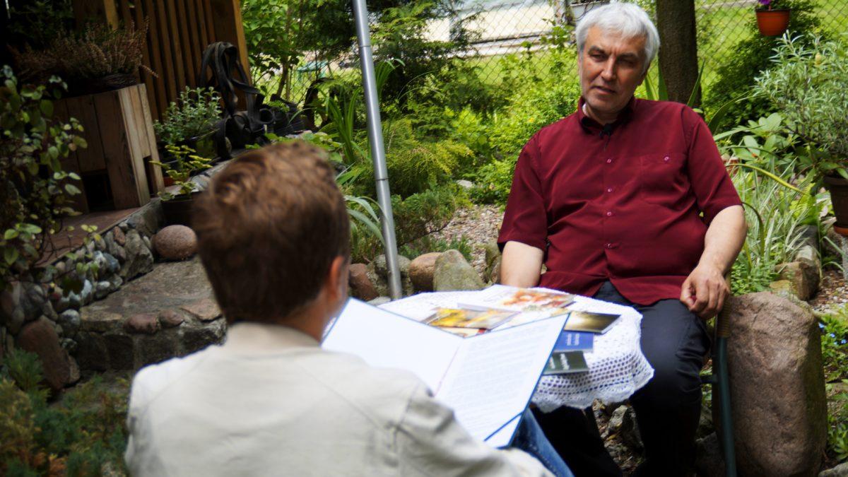 Spotkanie z poetą Józefem Zenonem Budzińskim