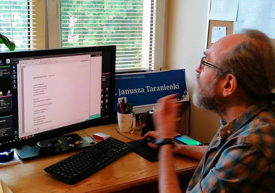 Janusz Taranienko – poeta w sieci