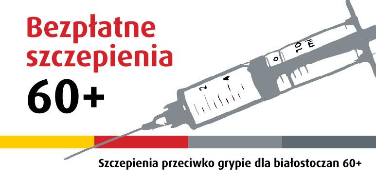 Bezpłatne szczepienia przeciw grypie dla seniorów