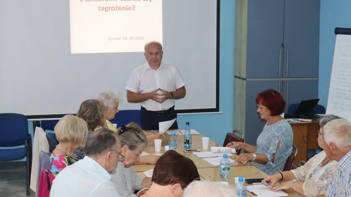 Pracowity okres Łomżyńskiej Rady Seniorów