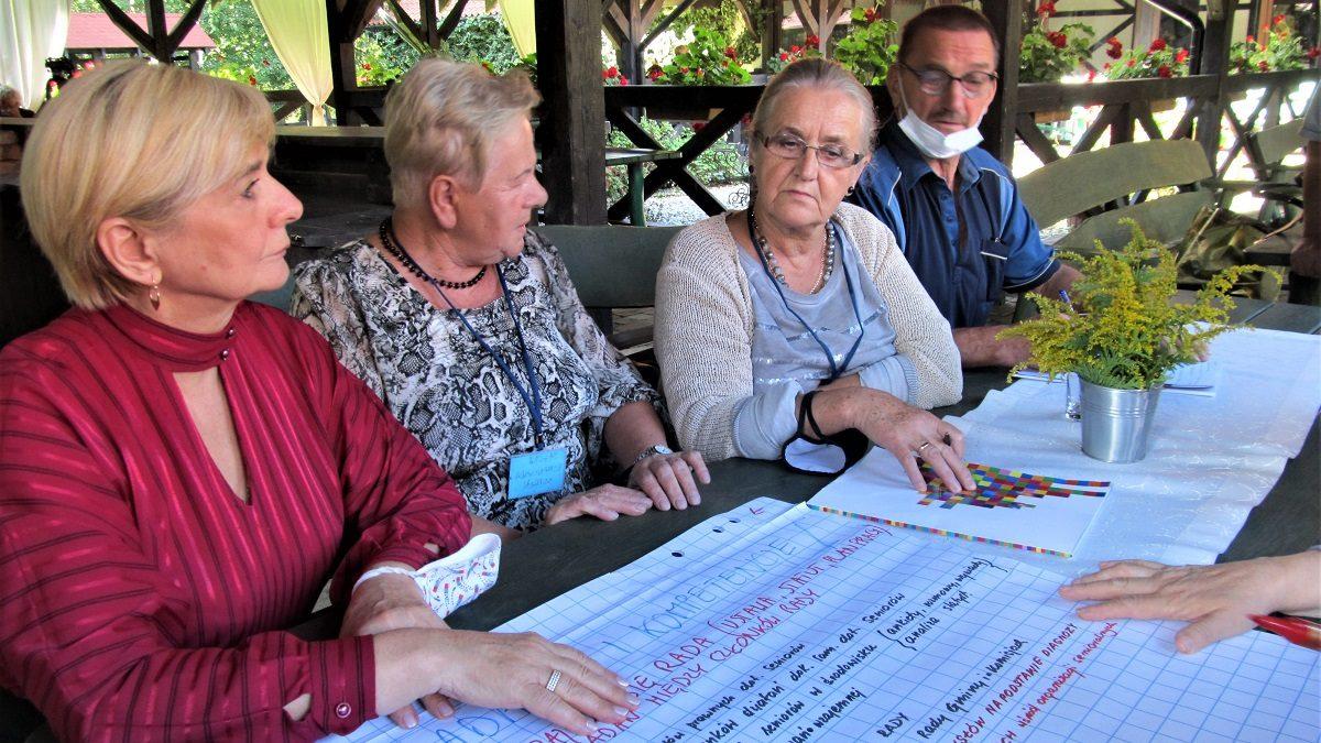 Tworzenie dobrych praktyk Rad Seniorów