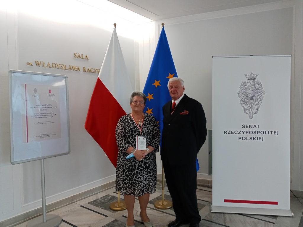Grażyna Czajkowska i Stanisław Kaseja
