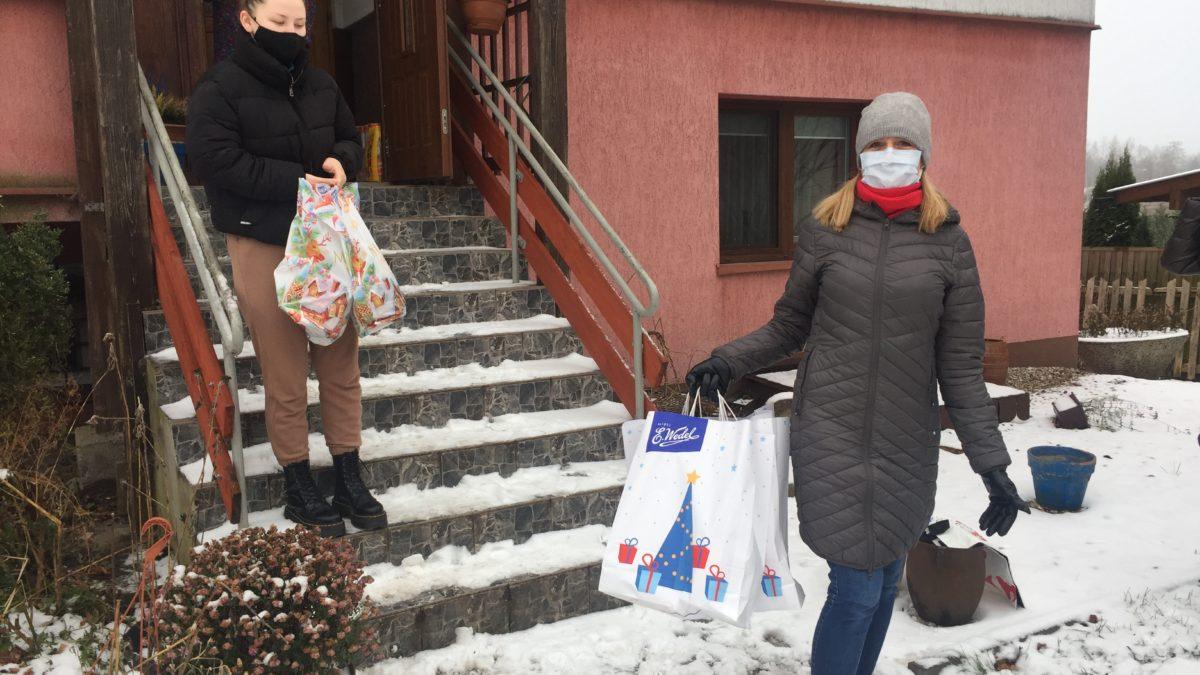 Akcja pomocowa choroszczańskich seniorów