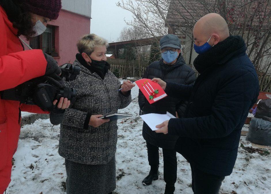 Choroszczańscy seniorzy na Święta – dla Innych