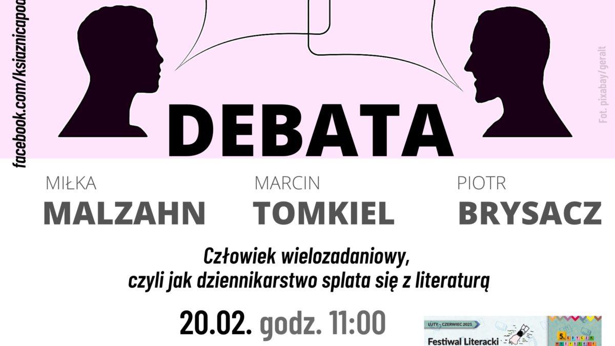 Debata o związkach dziennikarstwa z literaturą