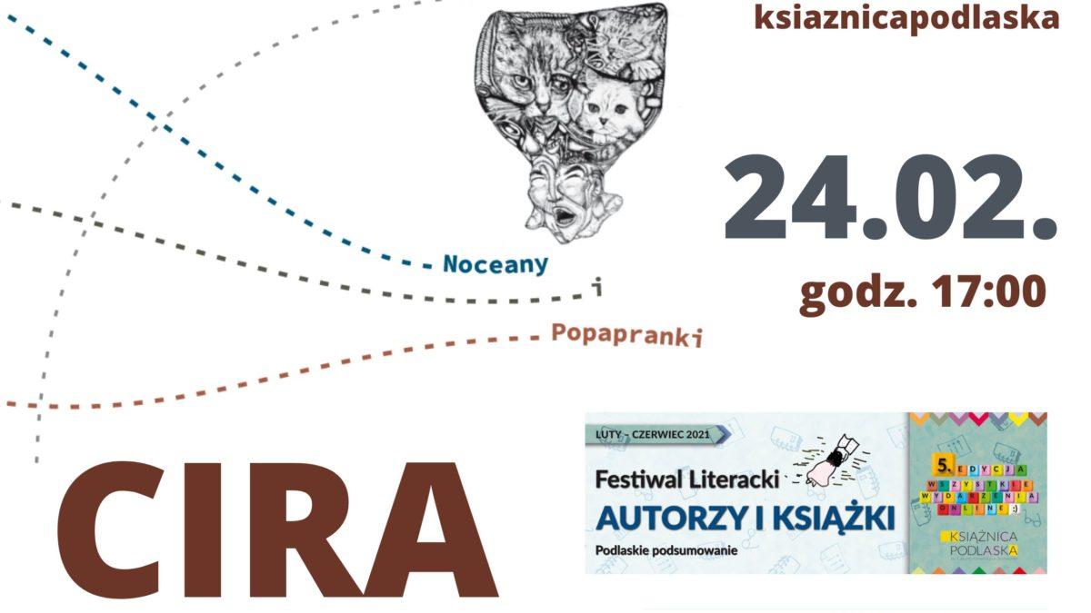 """Spotkanie z Michałem """"Cirą"""" Cirukiem"""