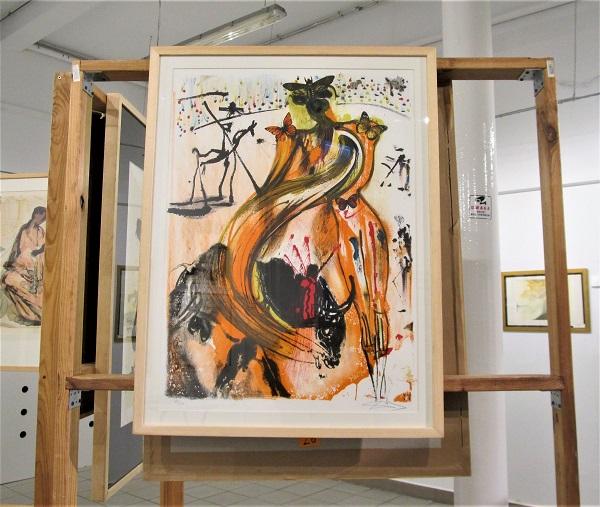 obraz Salvadora Dali