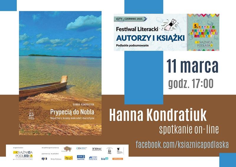 Spotkanie z Hanną Kondratiuk