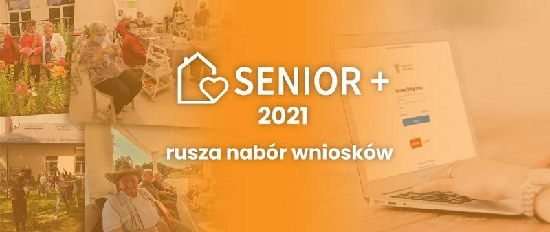 """Rządowe dotacje w ramach """"Senior +"""" edycja 2021"""