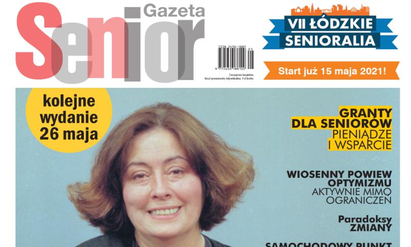 Majowe wydanie Gazety Senior