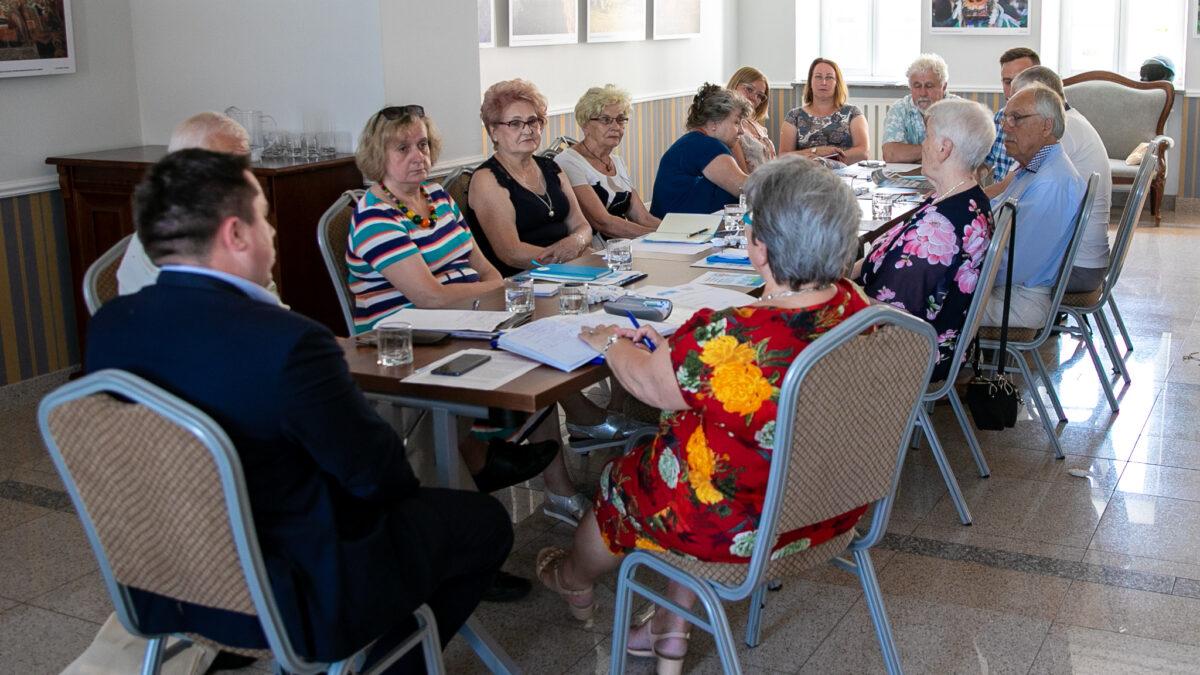 Łomżyńska Rada Seniorów aktywna w realu