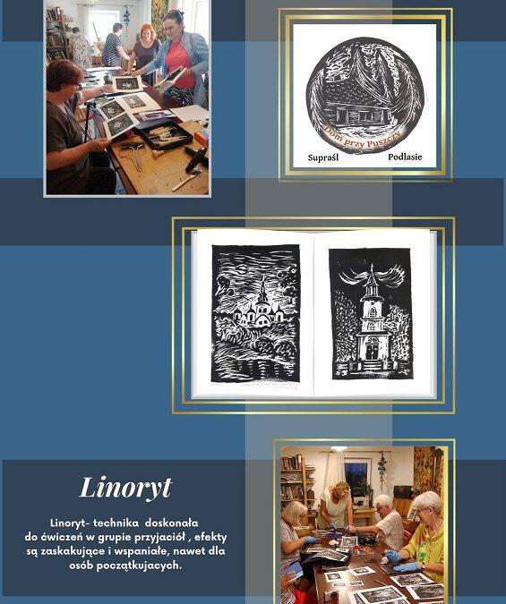 Linoryt - grafika