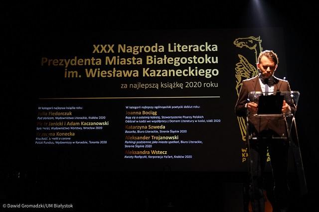 Laureaci białostockiej nagrody literackiej