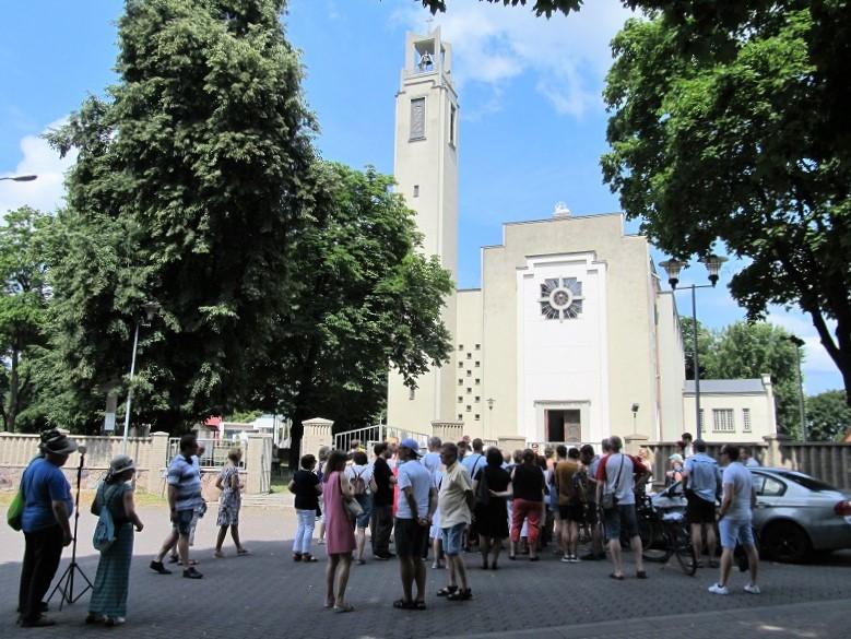 Zwiedzamy kościół pw. Niepokalanego Serca Maryi