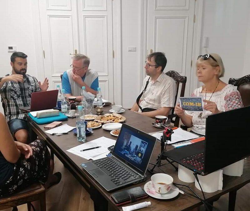 Zajęcia z partnerami projektu