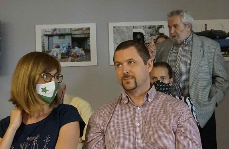 Dorota i Peter Baláž,w tle prof. Żelazny z UwB, fot. CLZ