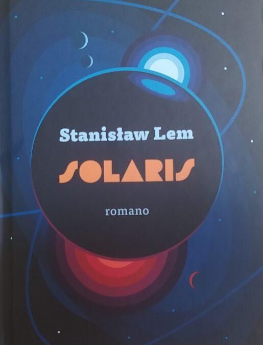 Okładka SOLARIS wg projektu Przemysława Wierzbowskiego