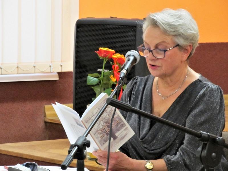 Janina Jakoniuk czyta swoje wiersze