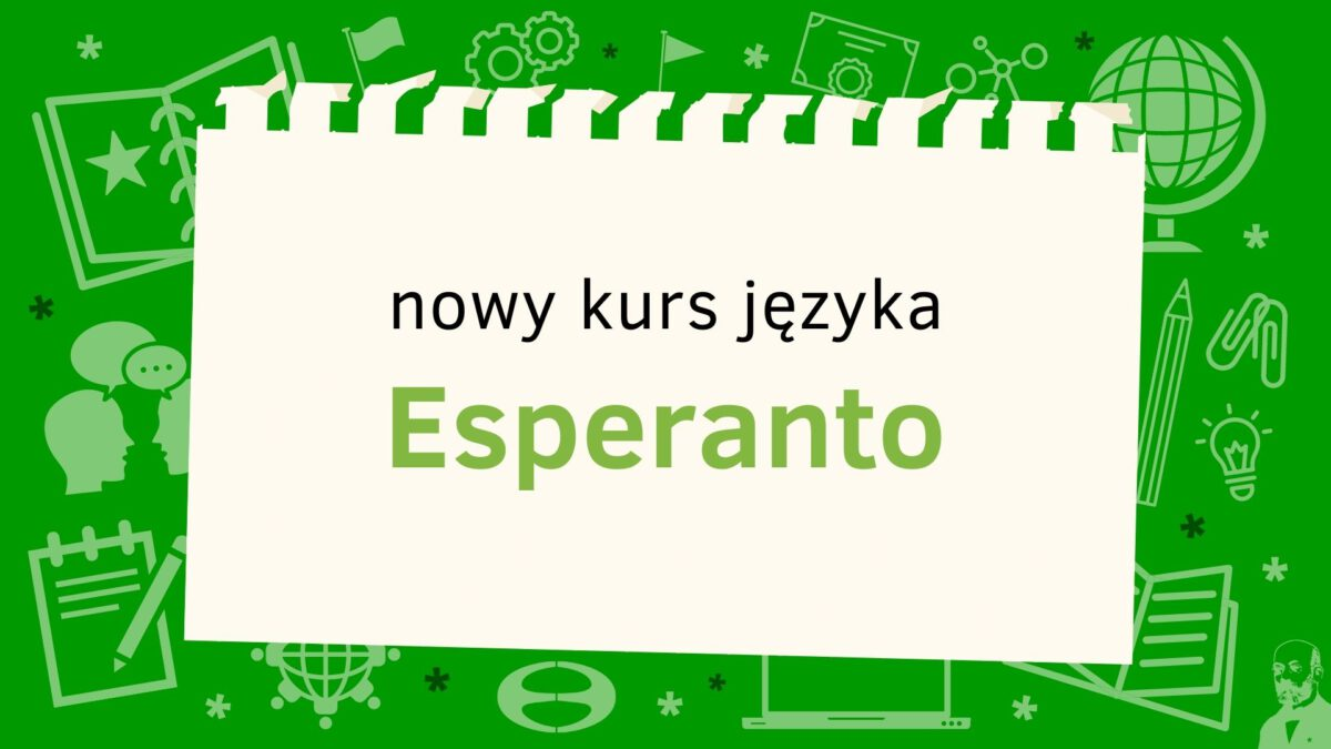 Bezpłatny kurs języka esperanto
