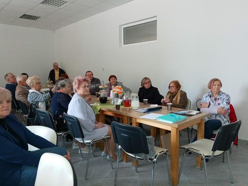 Spotkanie Rad Seniorów z Sejn i Łomży