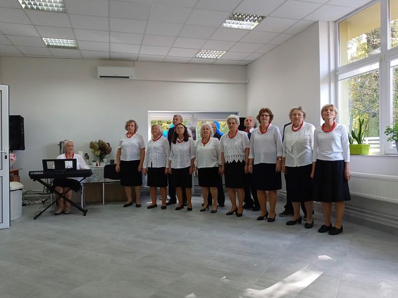 Zespół MARYNA wita gości